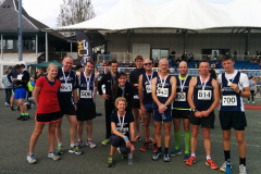 Canterbury Harriers performing admirably at the Ashford 10k