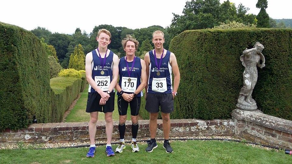 Mount Ephraim 10K male team prize winners