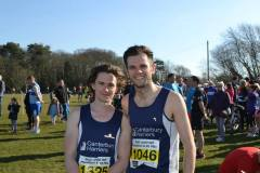 Tom Purnell and Tom Millard both achieving incredible times.