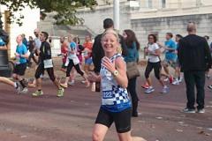 Tracy Furminger at the RPF Half Marathon