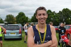 Simon Jones takes second place at the Staplehurst 10K