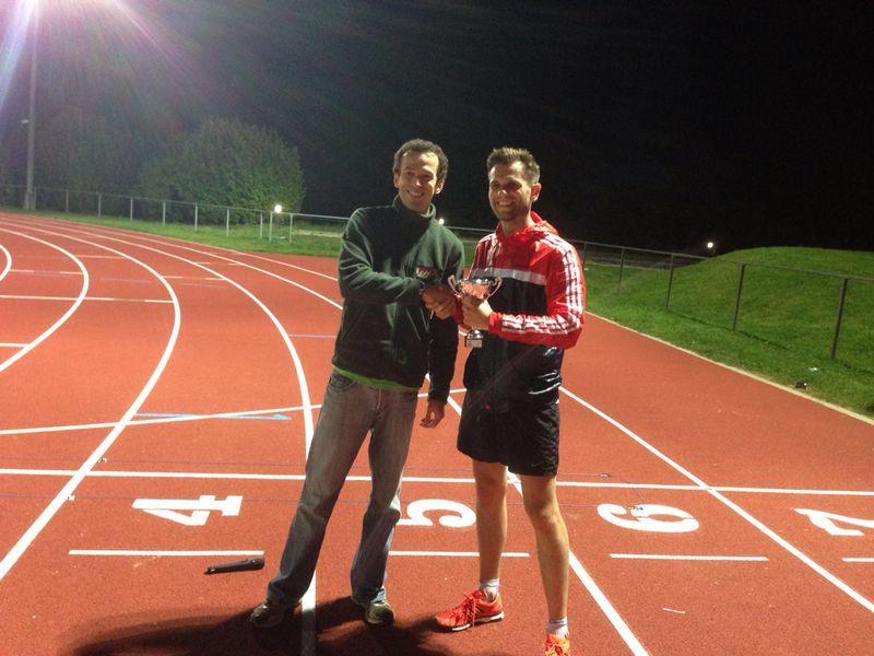 Tom Millard Track Athletics 5k Series Winner