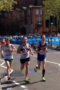 Canterbury Harriers London Marathon 2014