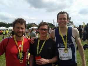 Jones Races to Victory at the Podplus Ashford 5K