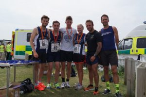 First Position and Team Prize for the Harriers!