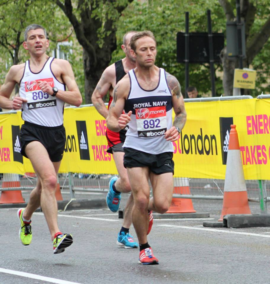 Adam Stokes London Marathon