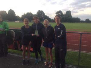 FV35 prize winners at the East Kent Relays