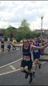 Jolly Day Out For Harriers At London Marathon