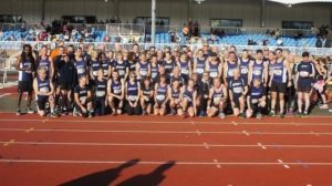 Record Turnout for  Harriers Club Championship Race