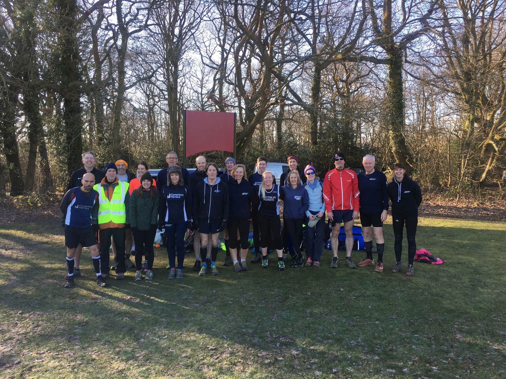 Harriers Finish Kent Fitness League On A High