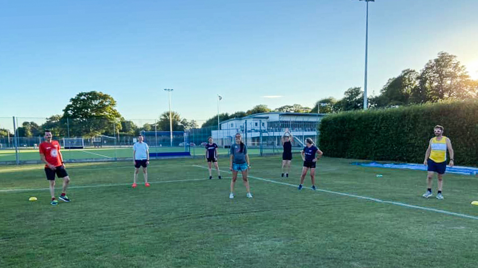 Tuesday Training Is Back at Birley's  –  Safe & Successful First Session