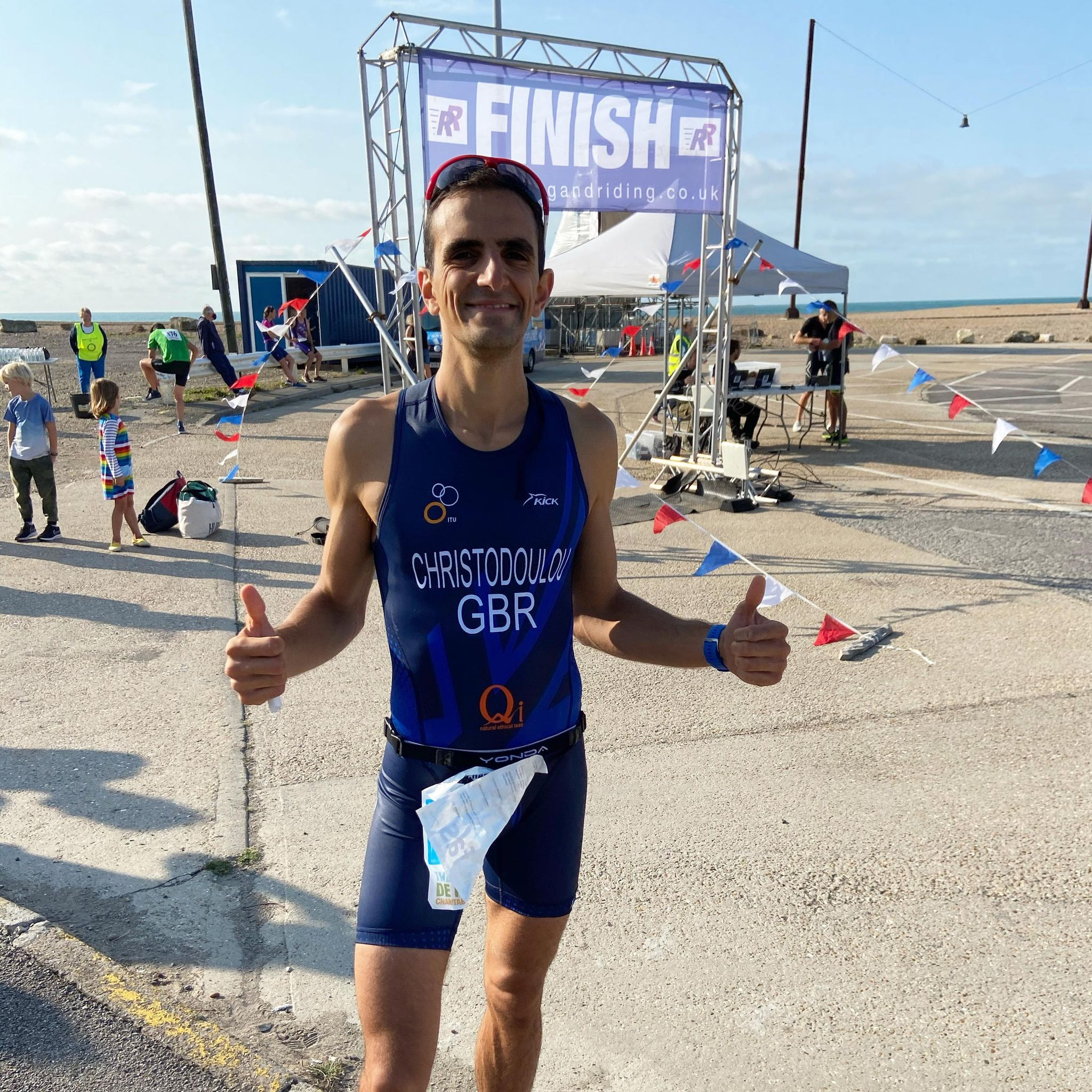 Yiannis Christodoulou Sets Course Record at Channel Sprint Triathlon