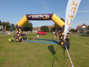 First Lady at Wingham 5k