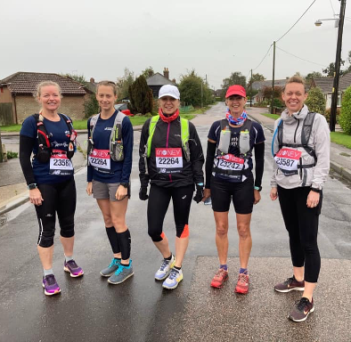 Team of Five Runs Virtual London Marathon – Chairwoman's First Marathon Distance